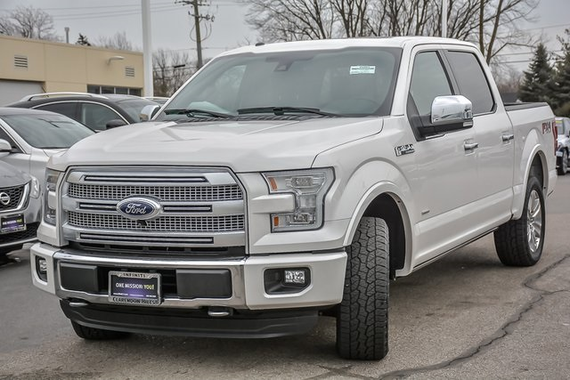 Pre Owned 2016 Ford F 150 Platinum 4d Supercrew In Clarendon Hills P2903 Infiniti Of