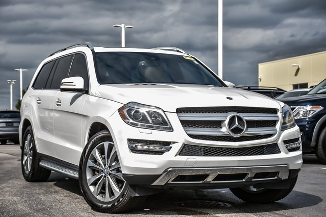 Pre-Owned 2016 Mercedes-Benz GL-Class GL 450