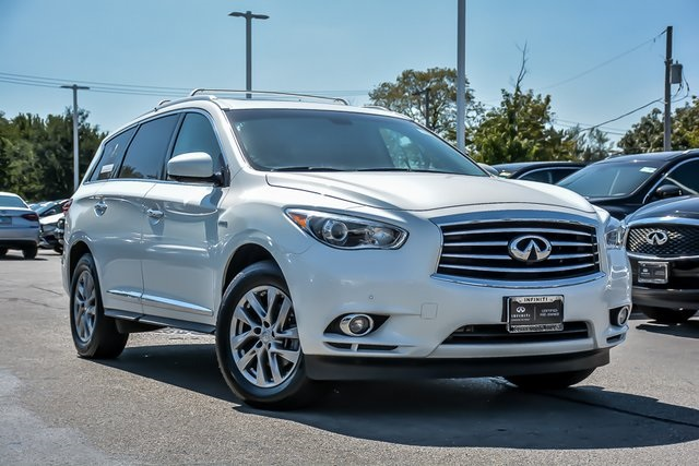 Certified Pre Owned 2017 Infiniti Qx60 Hybrid Base