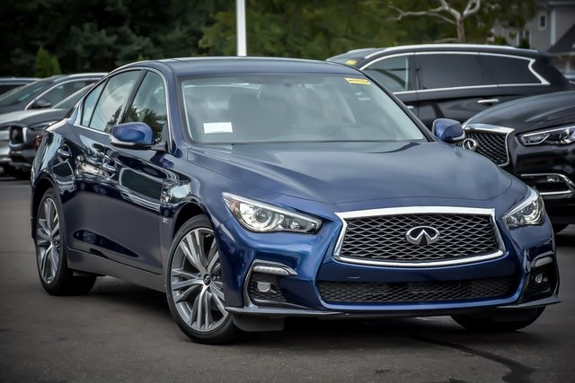 New 2019 Infiniti Q50 3 0t Sport Awd Sedan In Clarendon Hills C190338 Of